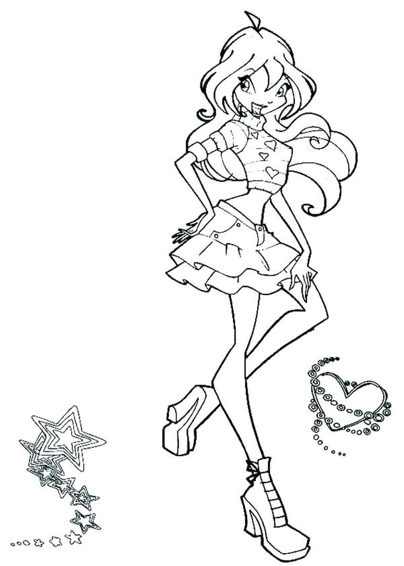Winx Coloring Books