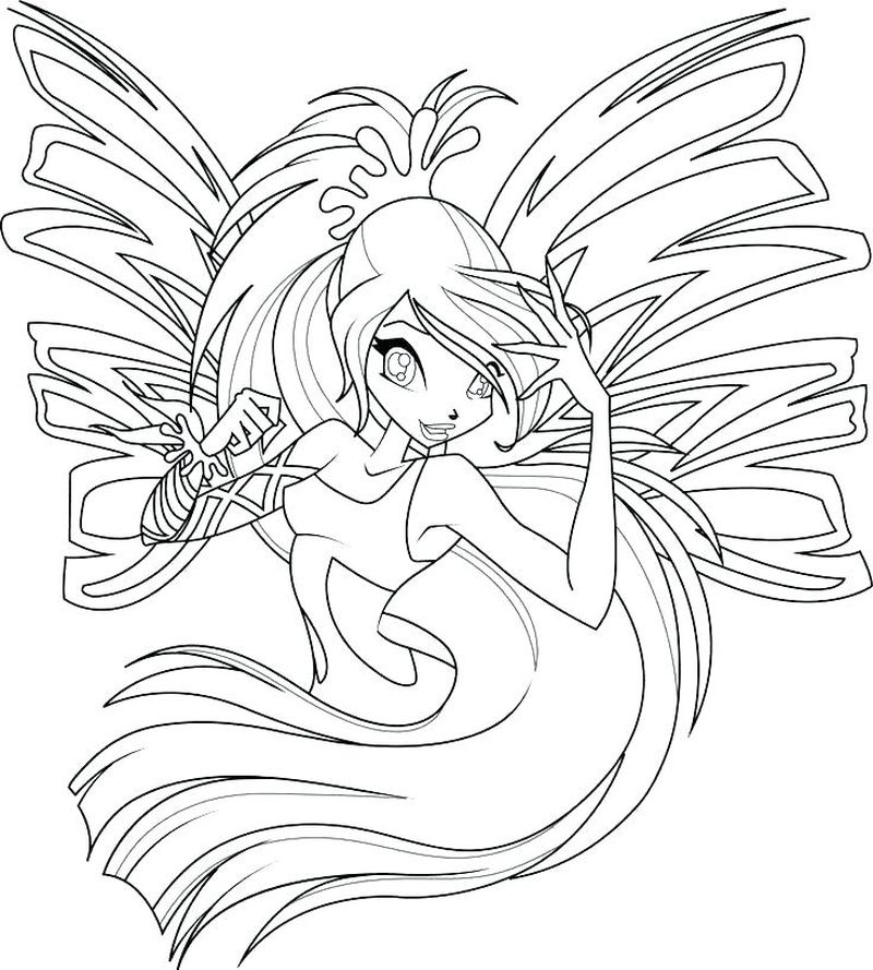Winx Coloring Pages Online