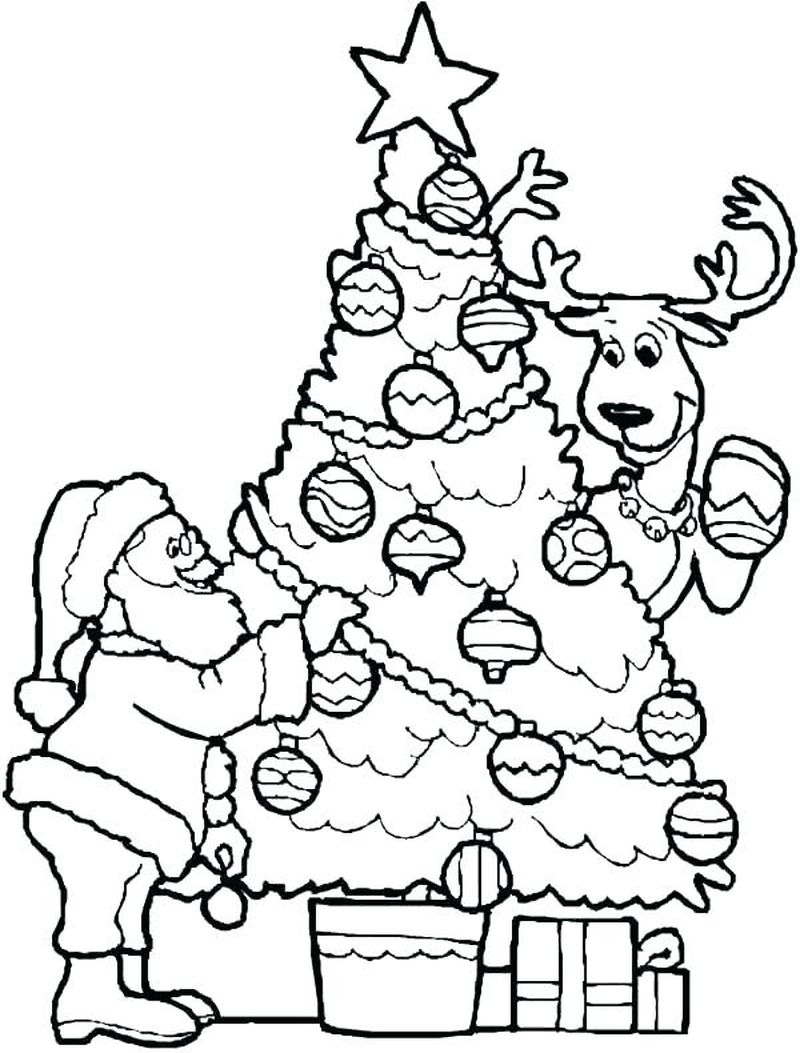 Year Without A Santa Claus Coloring Pages