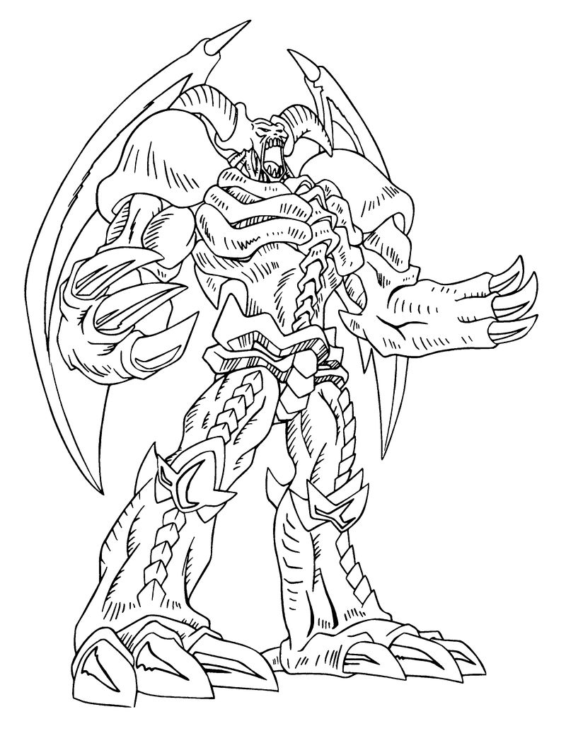 Yu Gi Oh Gx Coloring Pages free