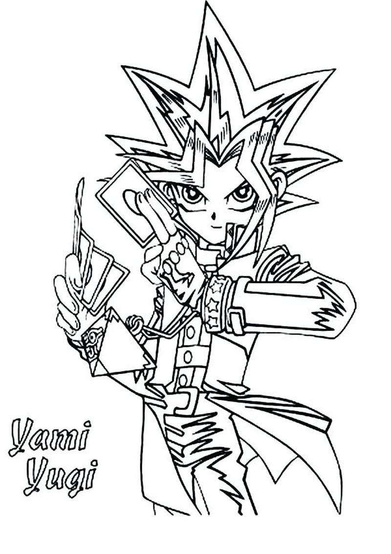 Yu Gi Oh Zexal Coloring Pages free