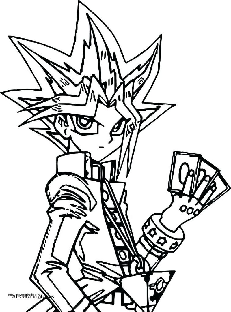 Yugioh 5ds Coloring Pages free