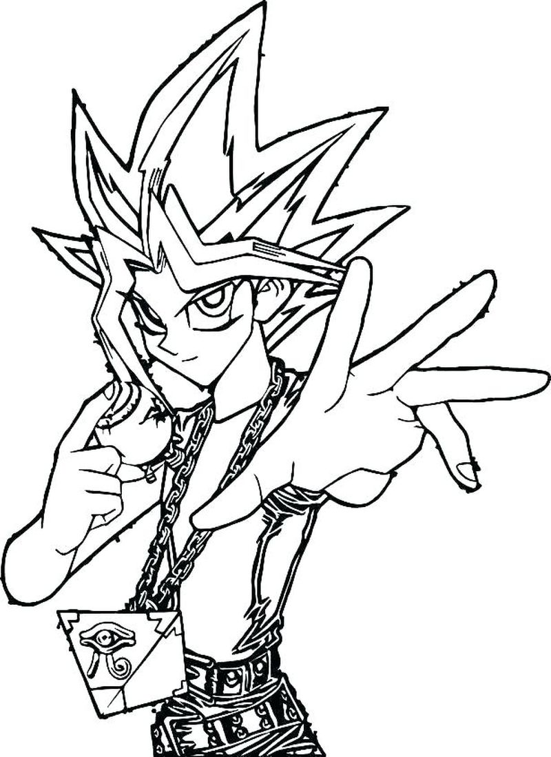 Yugioh Arc V Coloring Pages free