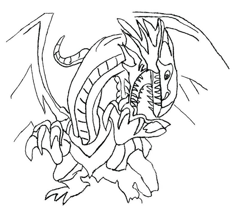 Yugioh Cards Coloring Pages pdf