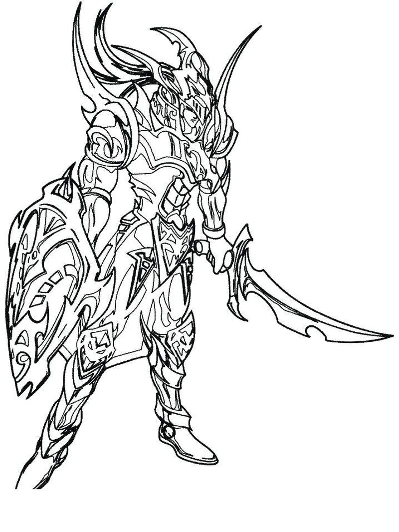 Yugioh Coloring Pages Free