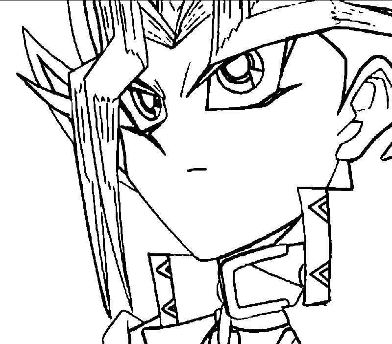 Yugioh Coloring Pages Printable pdf
