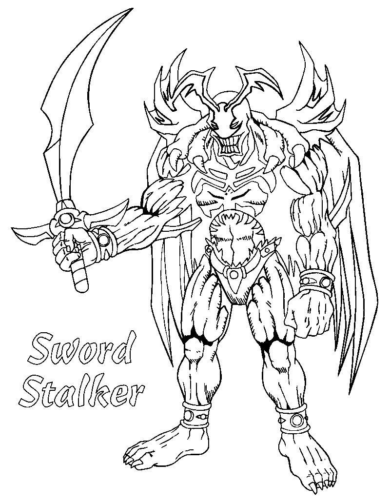 Yugioh Coloring Pages To Print pdf