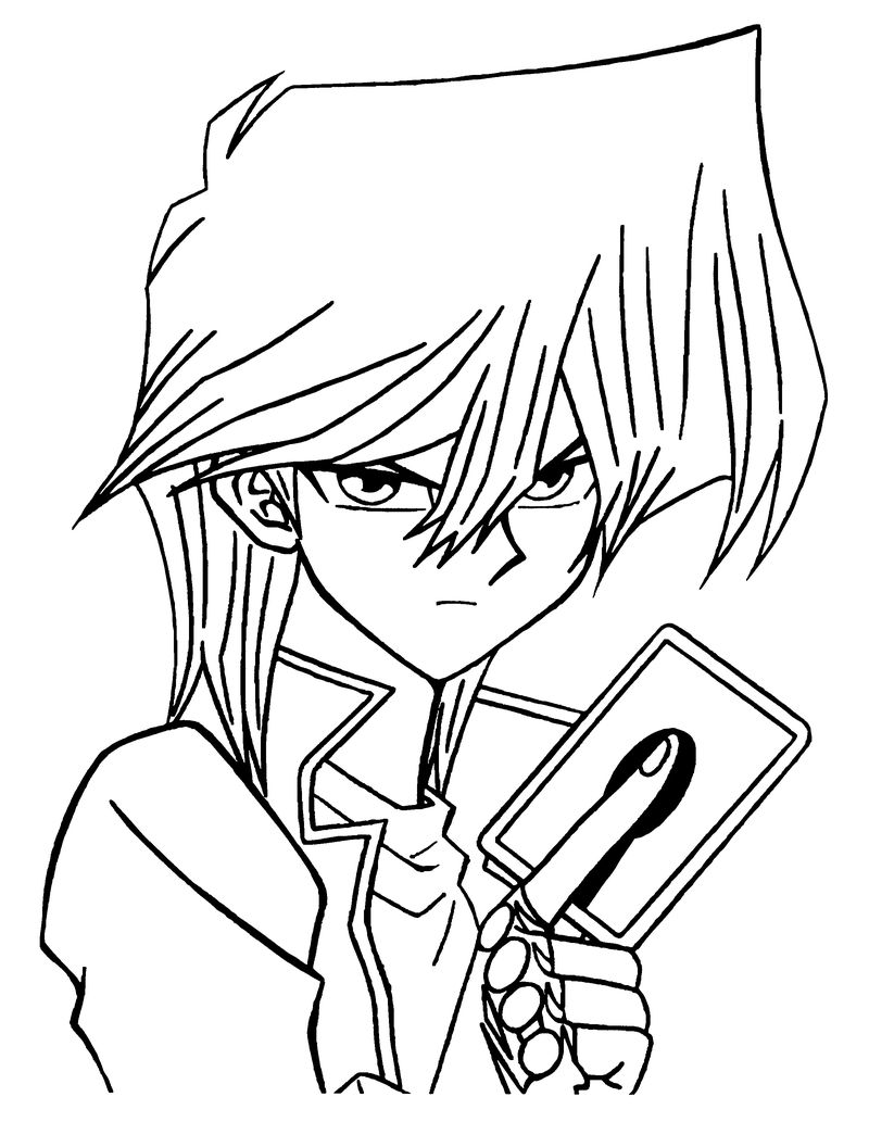 Yugioh Dragon Coloring Pages free