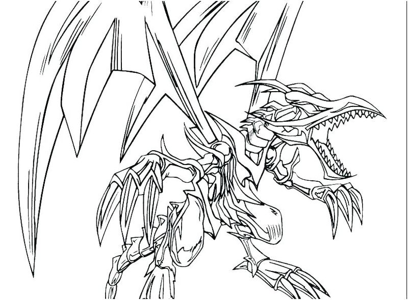 Yugioh Gx Coloring Pages To Print