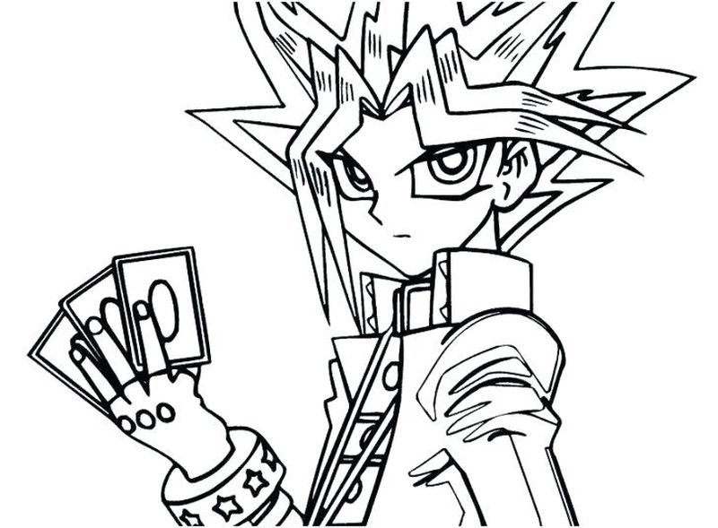Yugioh Gx Coloring Pages free