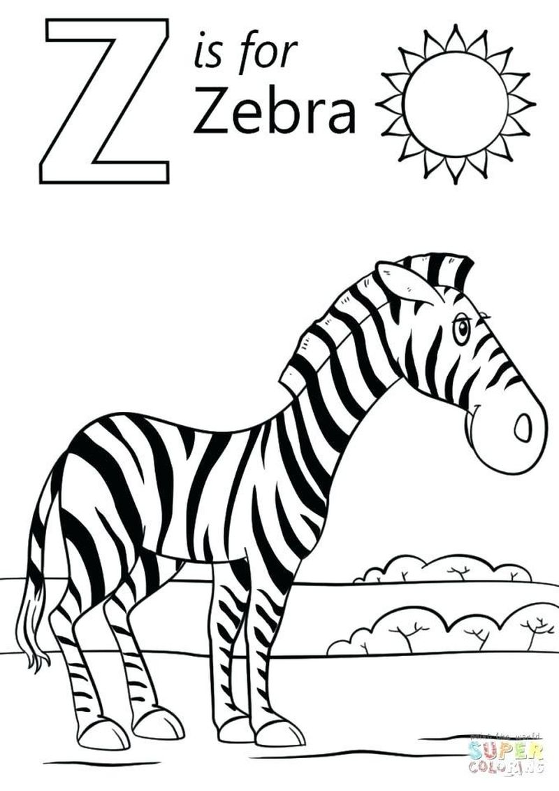 Zebra Shark Coloring Pages