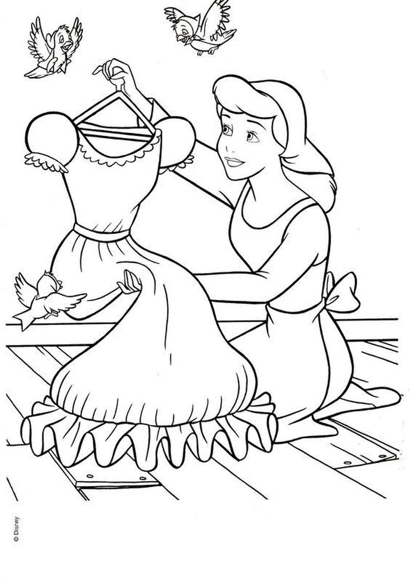 belle coloring book pages