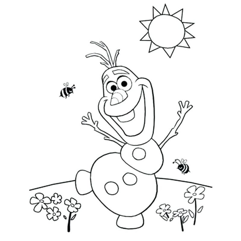 coloring book pages frozen