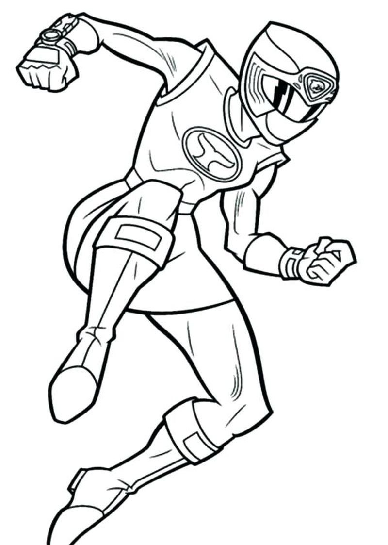 coloring pages for kids power rangers