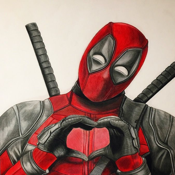 deadpool coloring