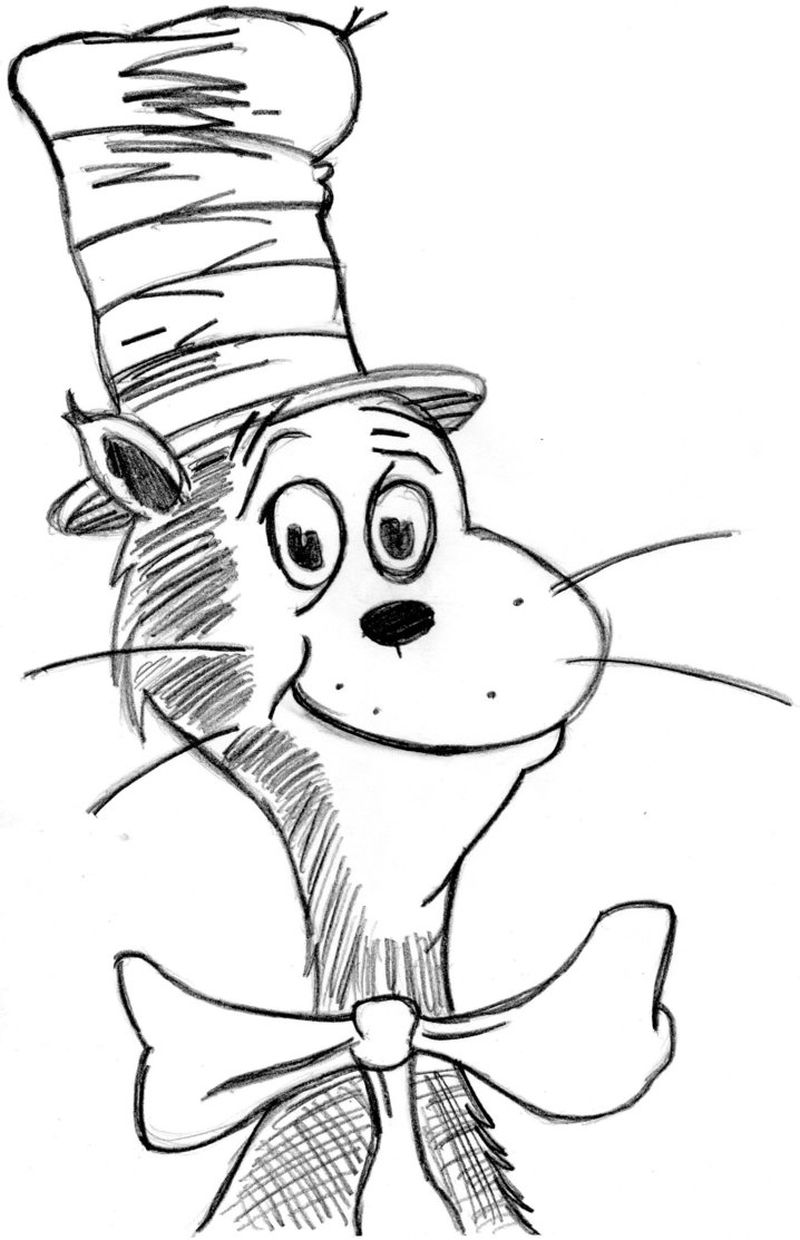dr seuss coloring pages to print