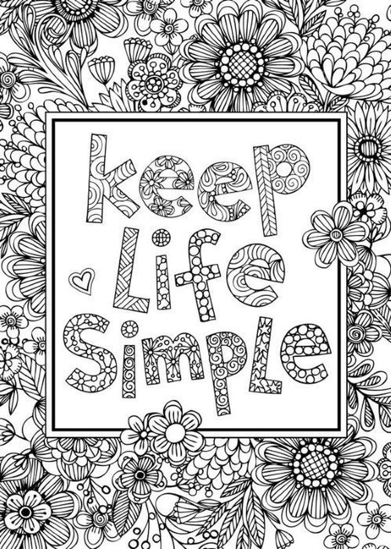 famous quote coloring pages