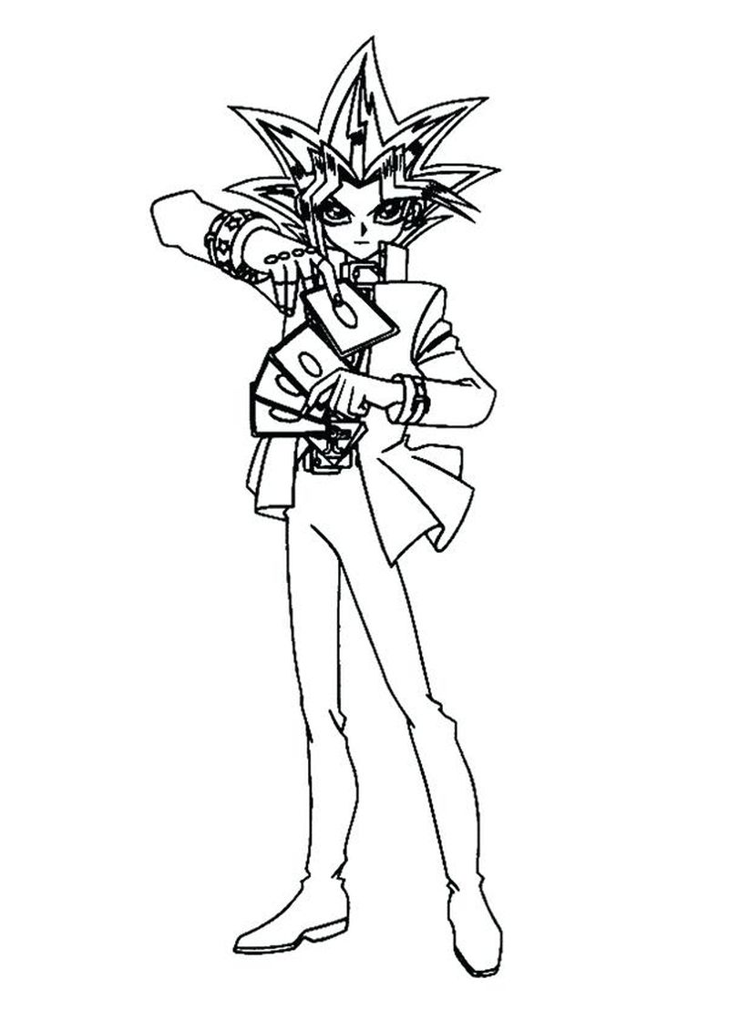 free Yugioh Coloring Pages Pdf free