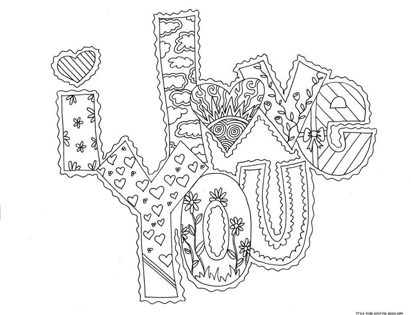 free valentine coloring pages for adults