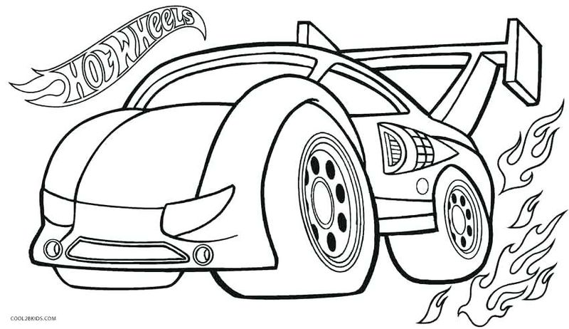 hot wheels coloring pages 053