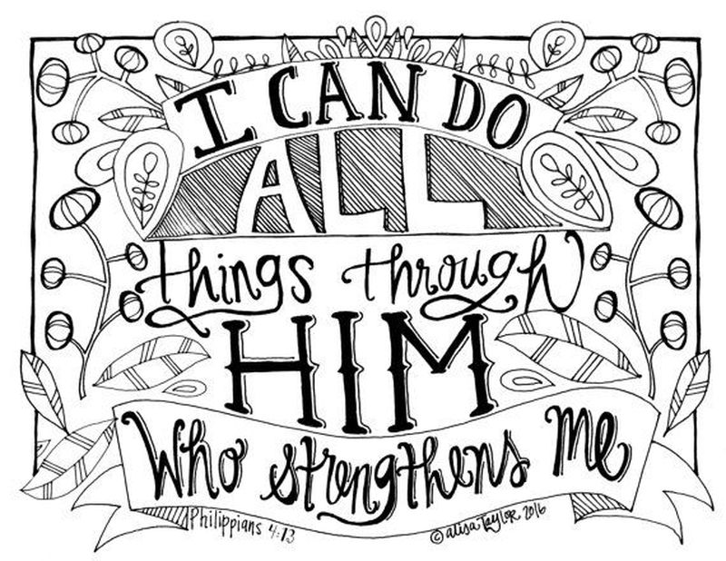 life quote coloring pages