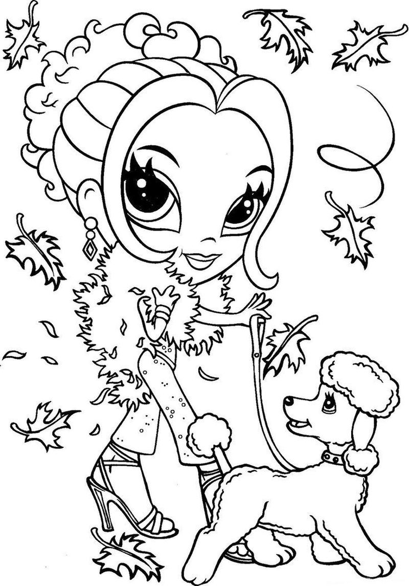 lisa frank coloring pages already colored