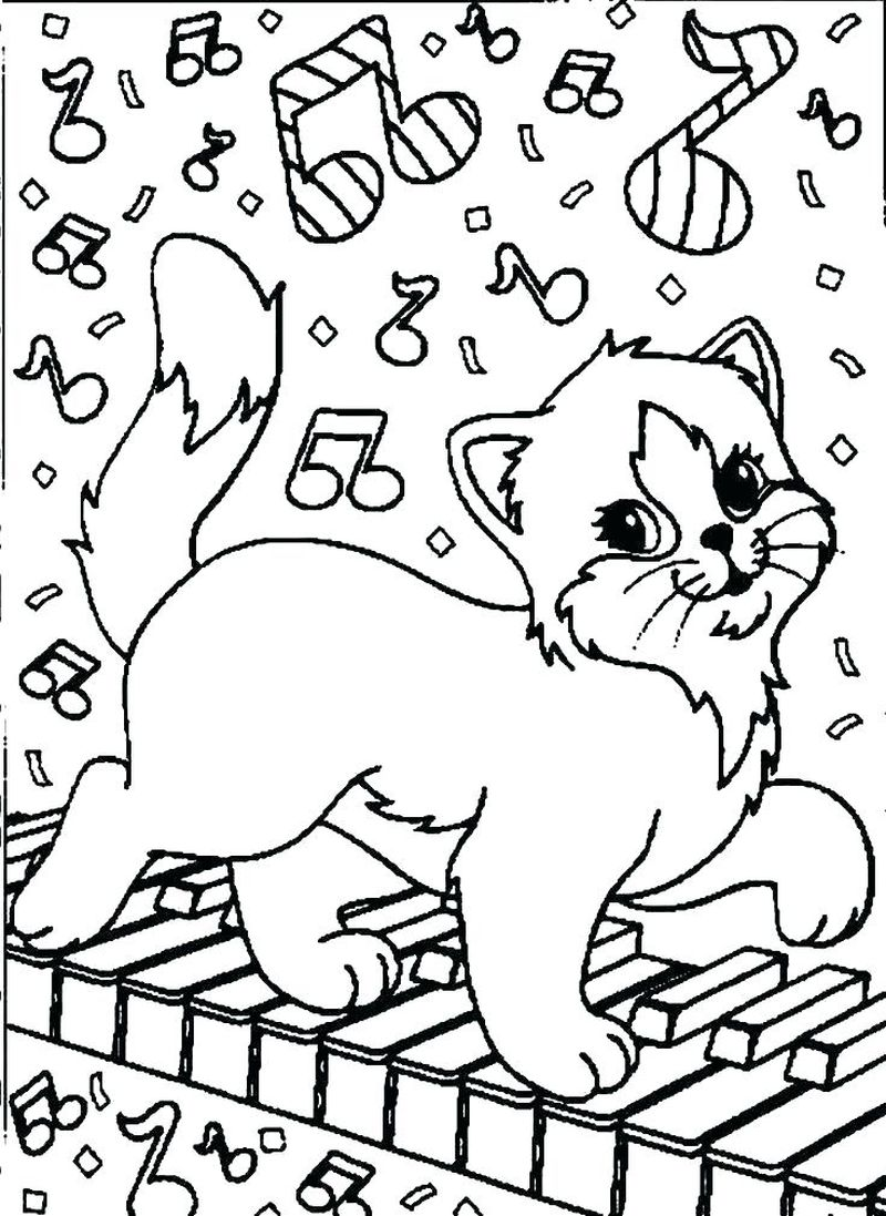 lisa frank coloring pages cats