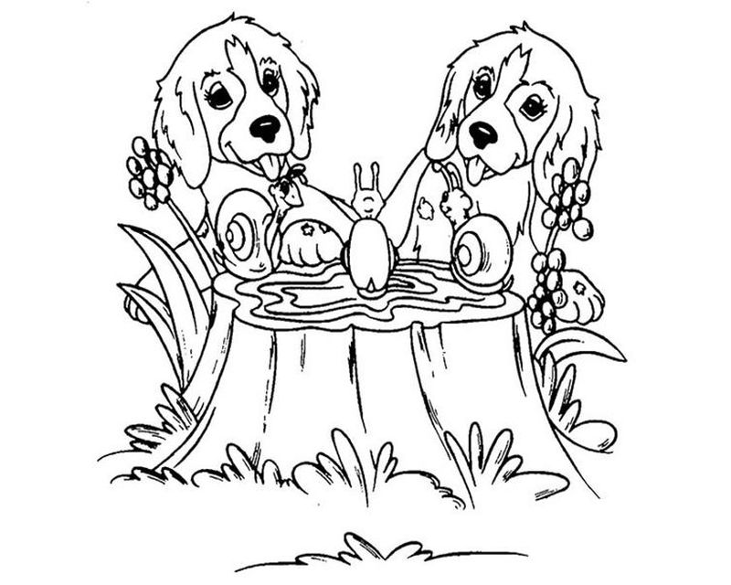 lisa frank coloring pages dogs