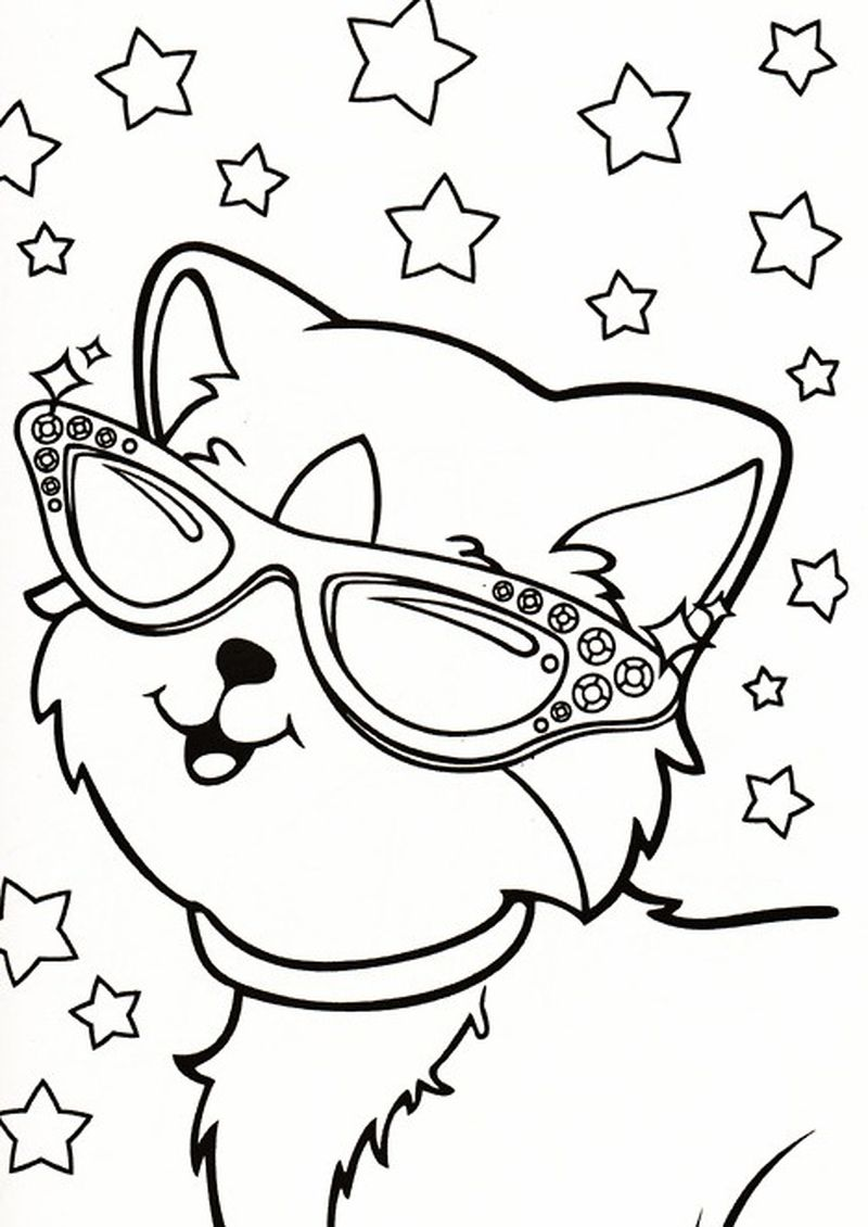 lisa frank coloring pages of animals