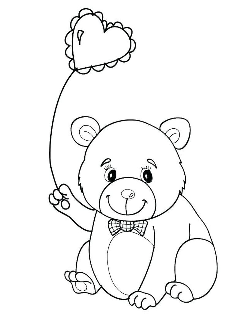 panda coloring pages for preschool