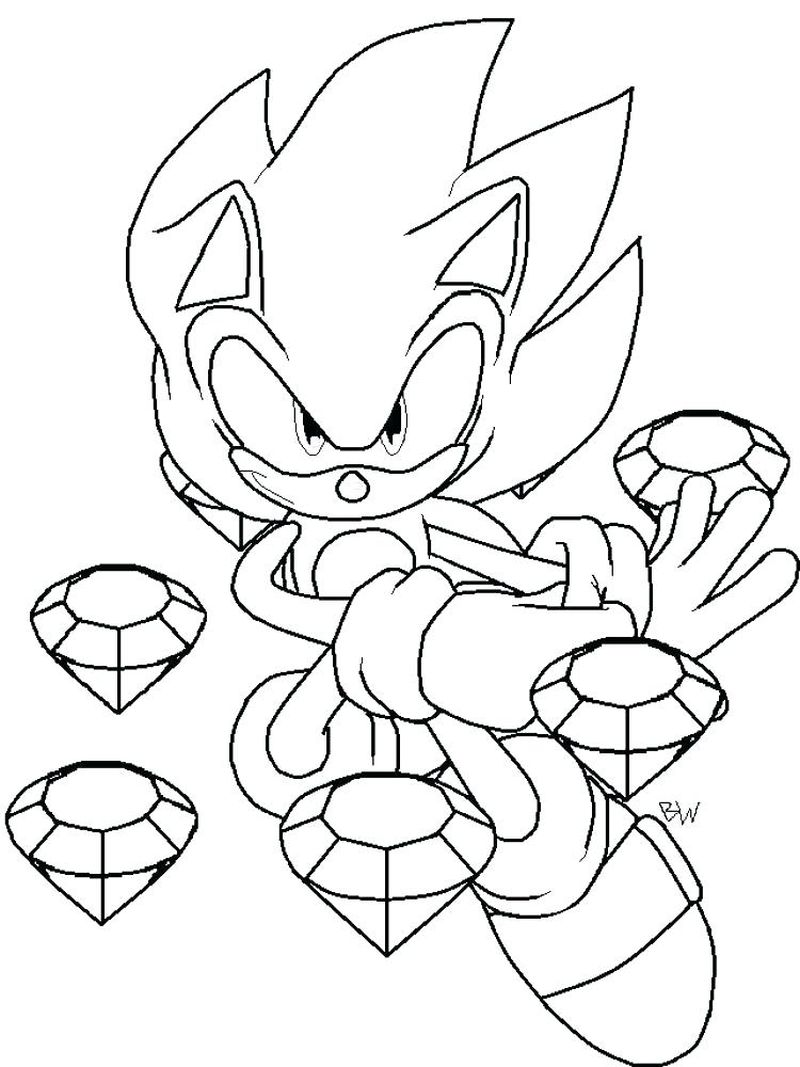 sonic coloring pages games