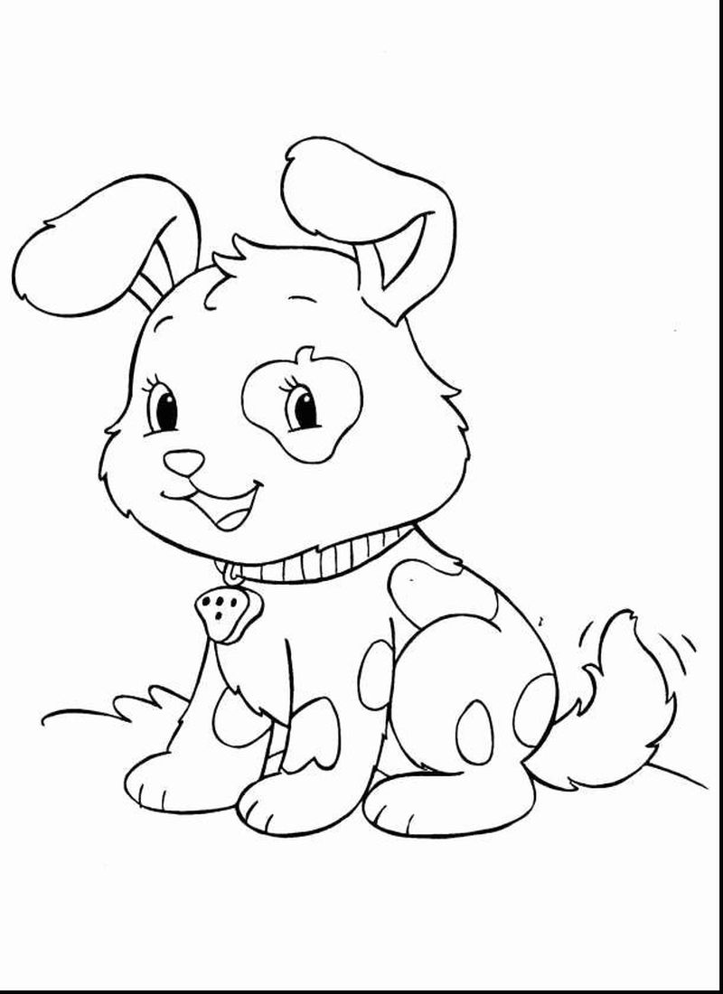 Adorable Baby Animal Coloring Pages Free