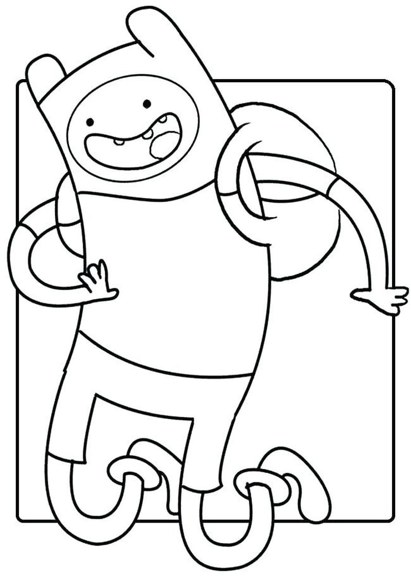 Adventure Time Coloring Pages All Characters Printable