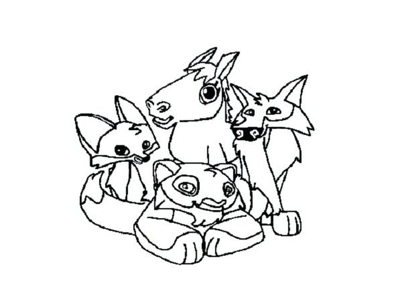 Animal Jam Academy Coloring Pages Free