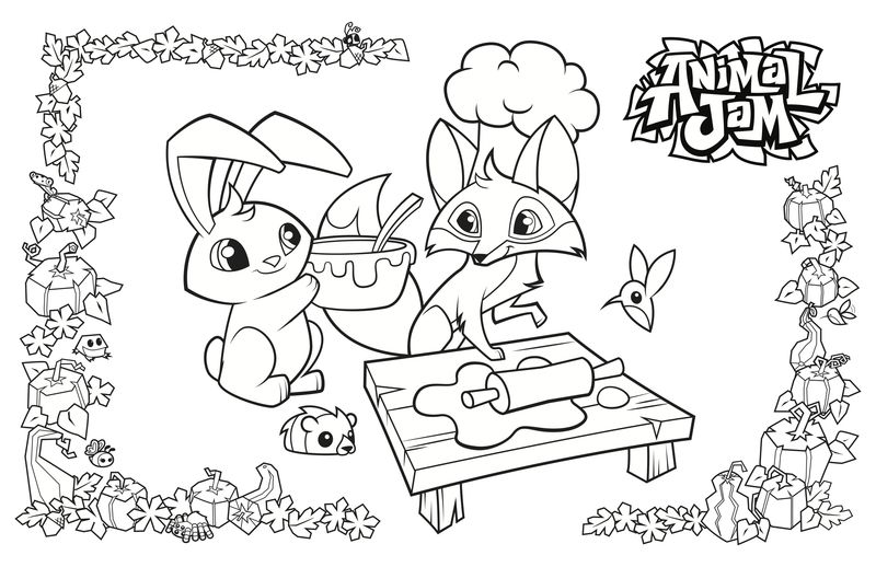 Animal Jam Coloring Pages Hyena Free