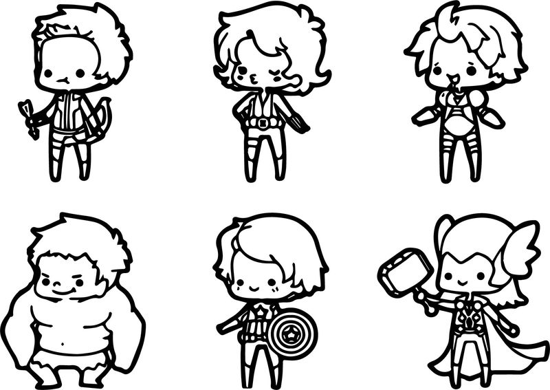 Anime Coloring Pages Chibi Boy And Girl free