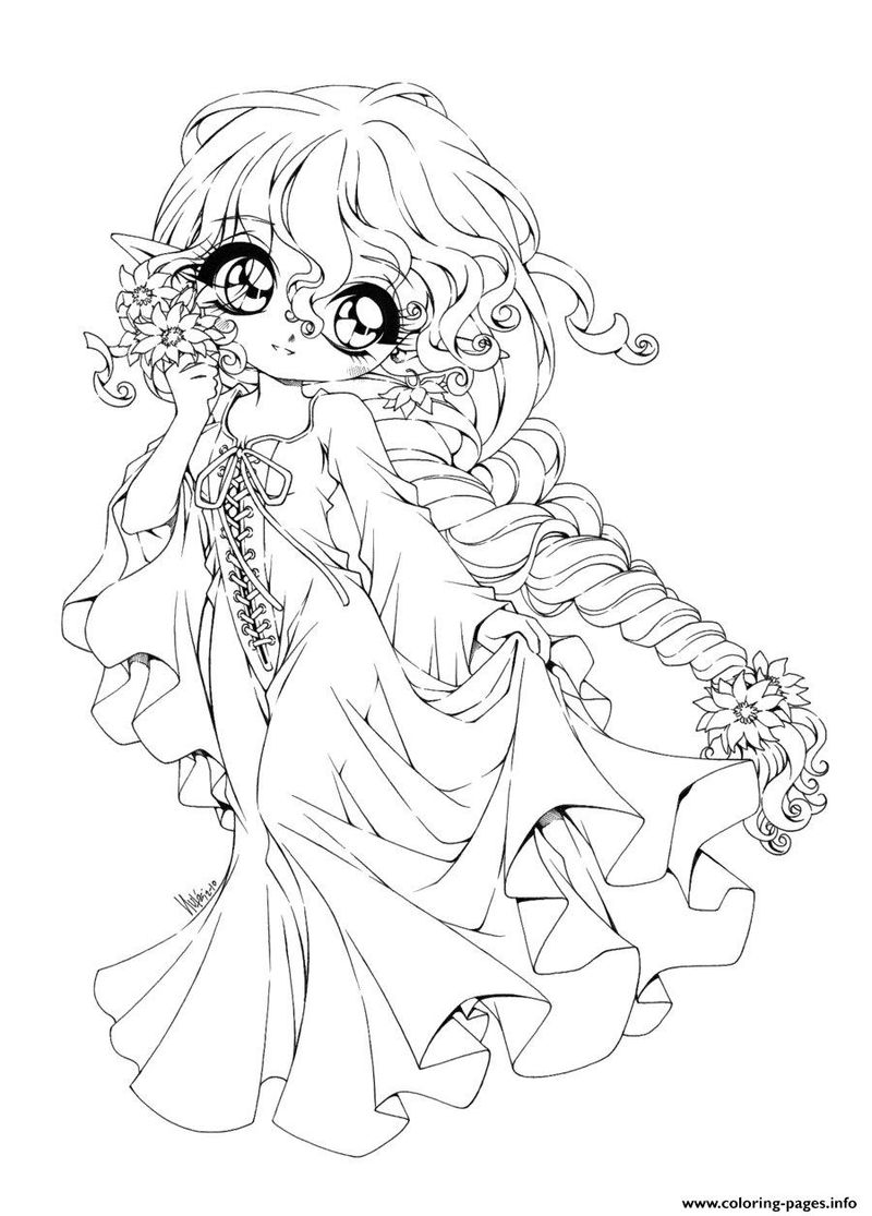 Anime Coloring Pages Chibi free