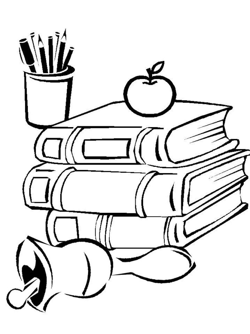 BACK TO SCHOOL COLORING PAGES SECOND GRADE