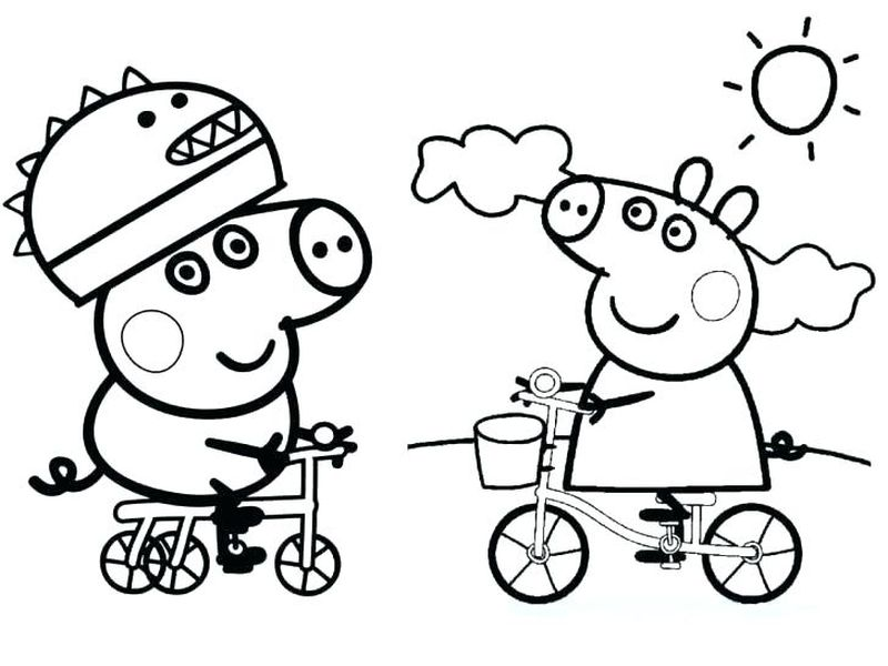 Babe The Pig Coloring Pages