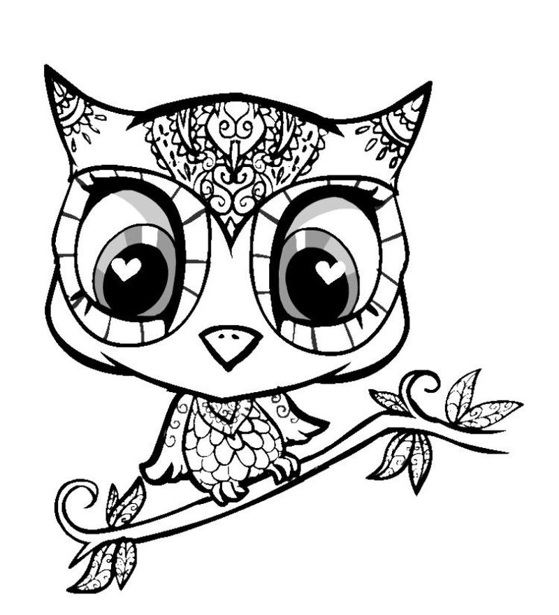 Baby Animal Coloring Pages For Kids Free