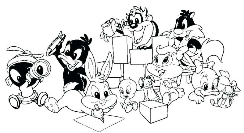 Baby Looney Toons Character Free