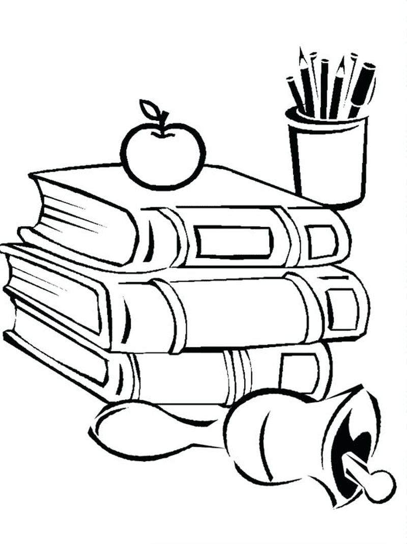 Back To School Coloring Pages To Print 1