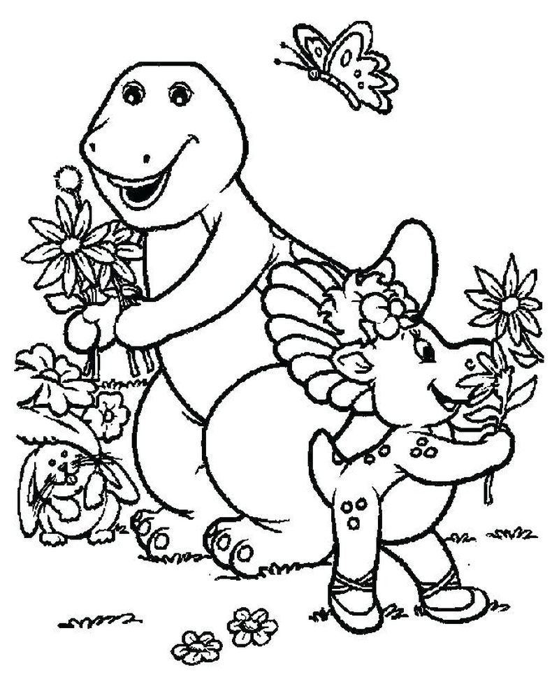 Barney And Friends Pictures Printable