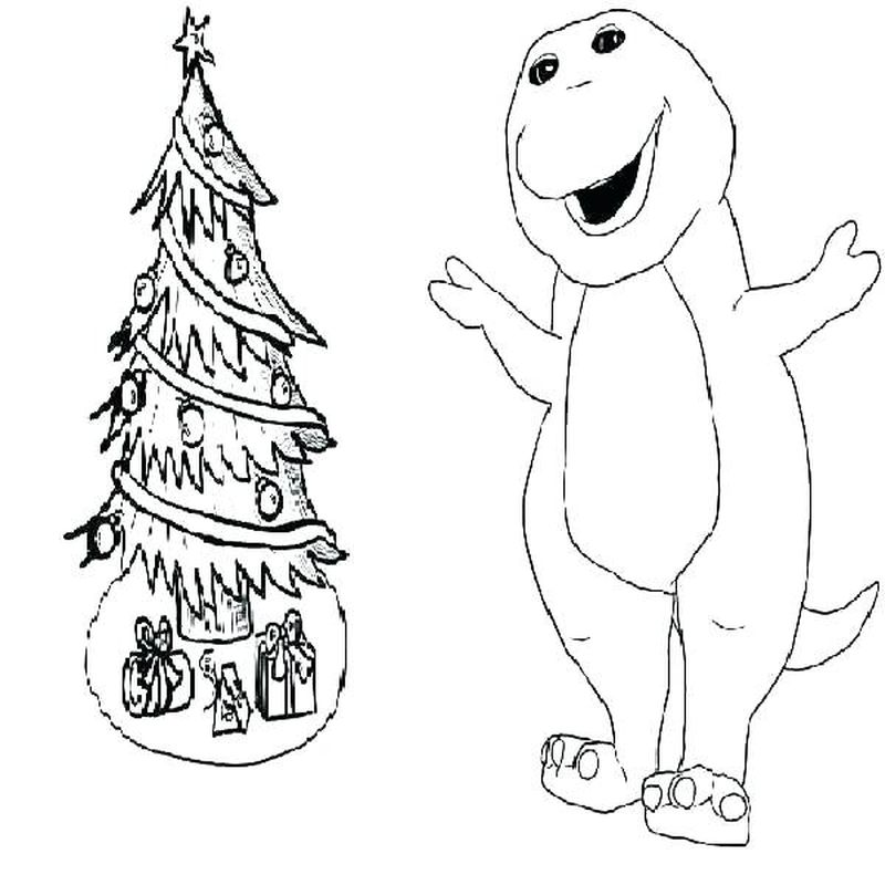Barney Pages Printable