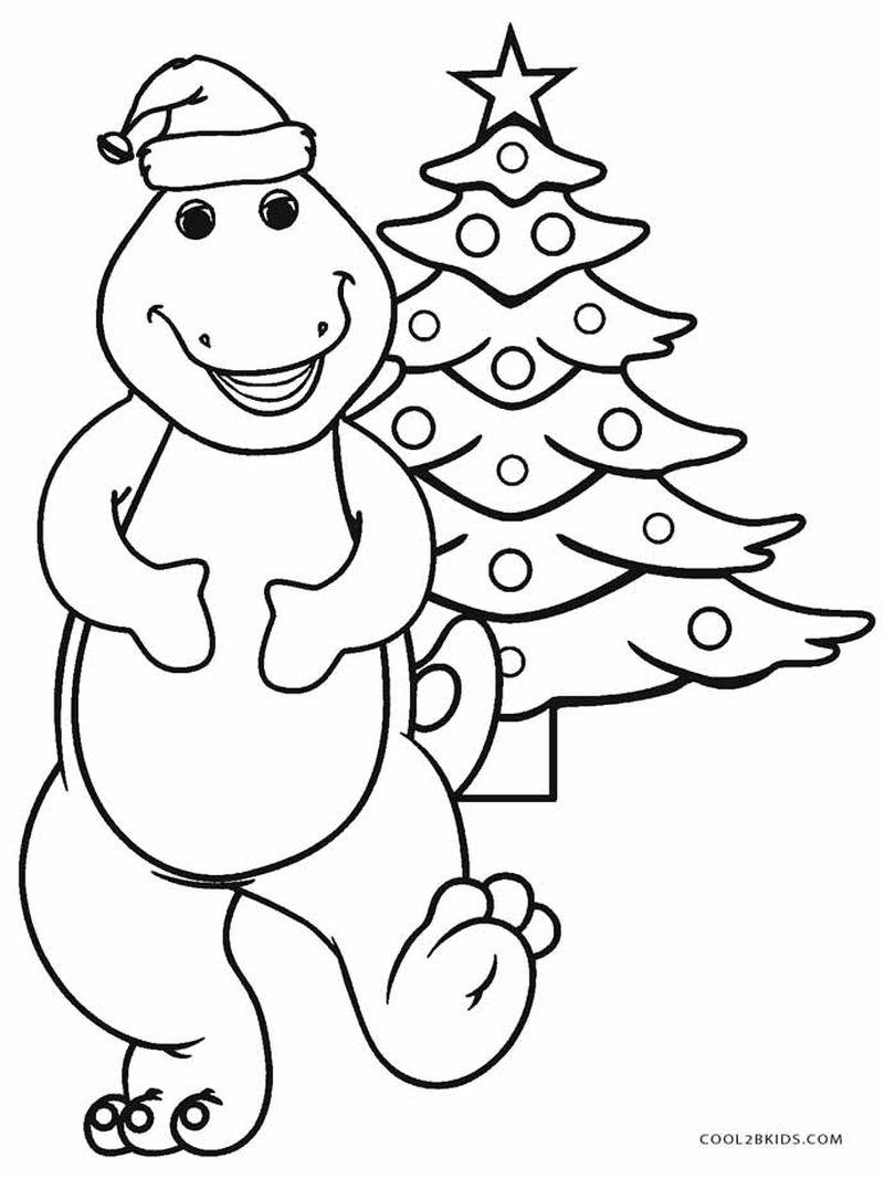 Barney Pictures This Printable