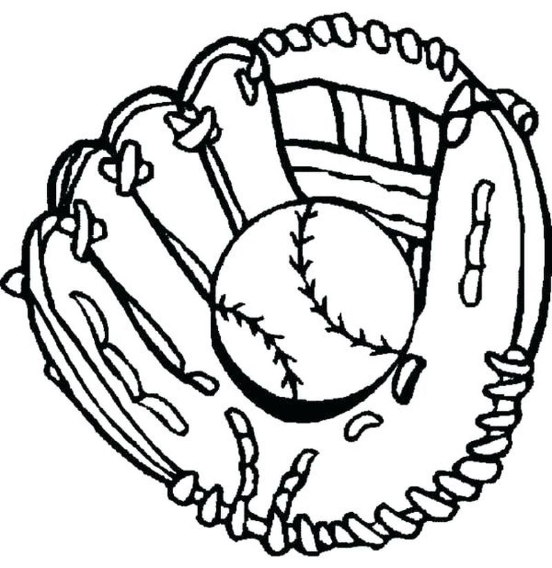 Baseball Coloring Pages For Boys