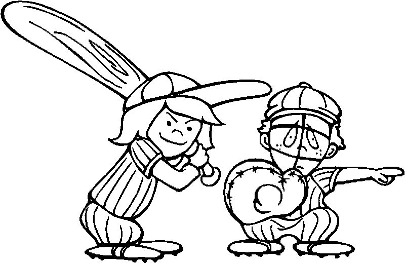 Baseball Pitcher Coloring Pages