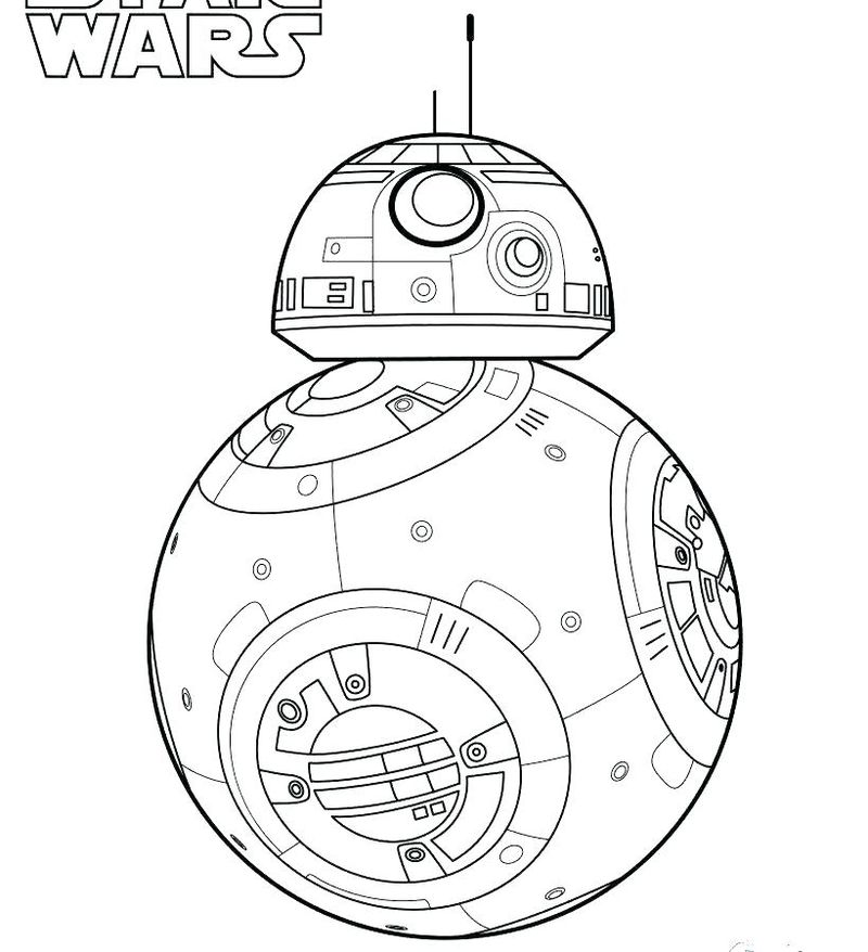 Bb 8 Coloring Page free