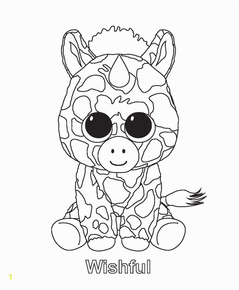 Beanie Boo Coloring Pages Png
