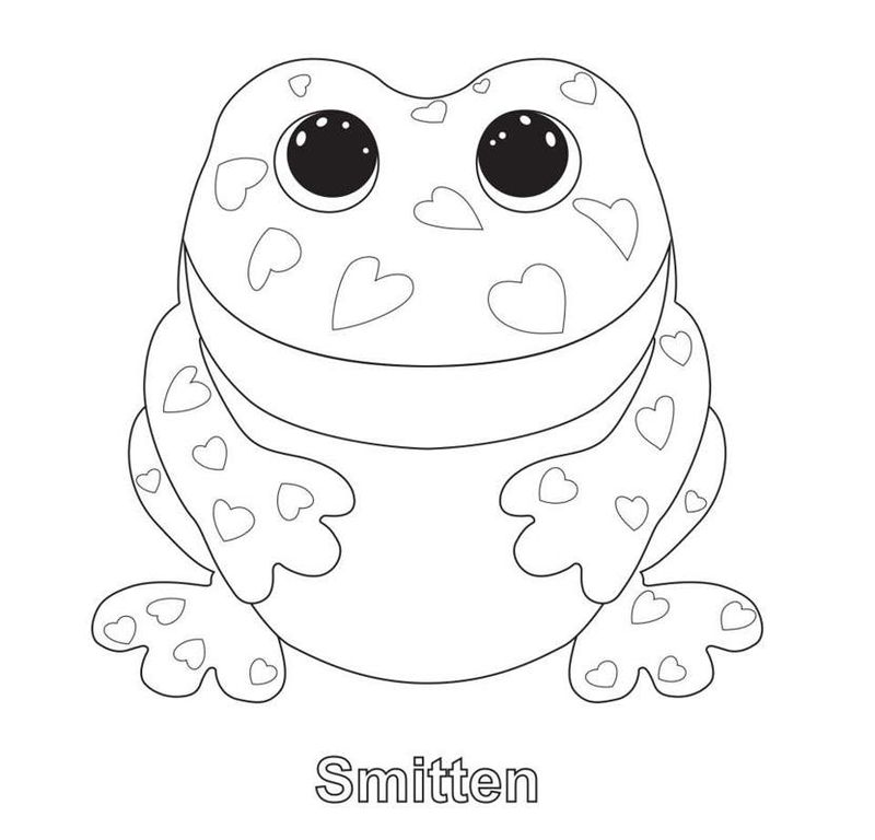 Beanie Boo Coloring Pages Printable Dougie